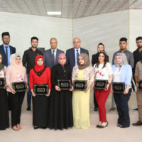 Honouring Top Performing Students at Al Bayan University